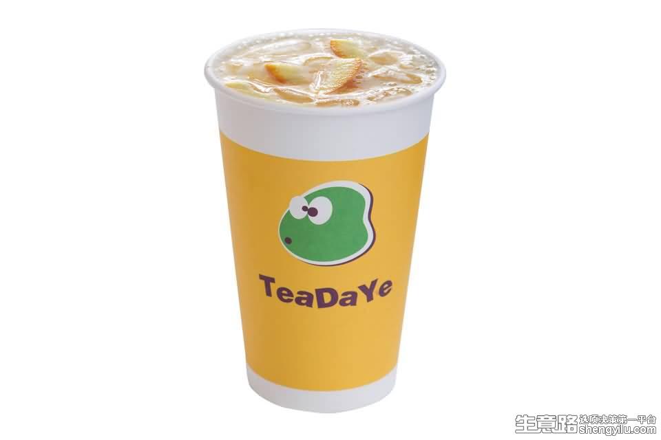 茶大爷奶茶项目实拍大图