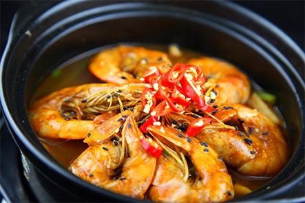 老虾公南美烧汁虾