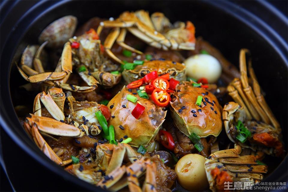 老虾公南美烧汁虾项目实拍大图