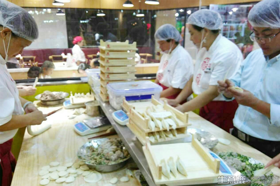喜妙福水饺加盟店实拍