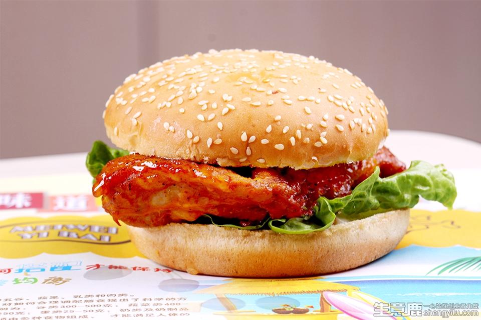 堡滋堡味·汉堡项目实拍大图
