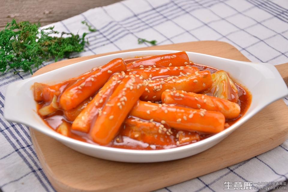 韩品小厨韩式料理加盟店实拍