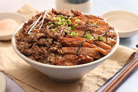 π岛烤肉丼饭