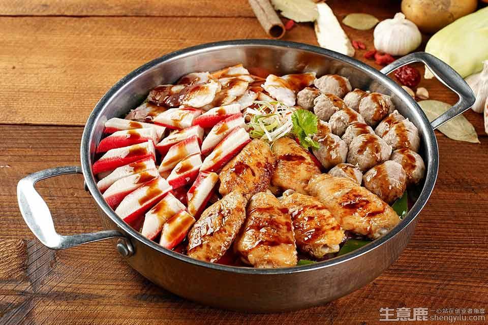 和福顺膳食焖锅加盟店实拍