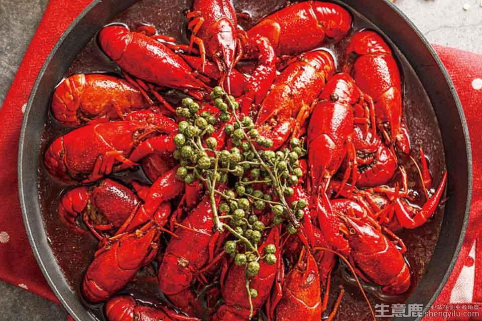 虾客食光龙虾烧烤加盟店实拍