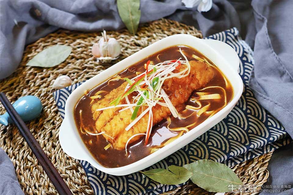 撸串猫无骨鱼米饭项目实拍大图