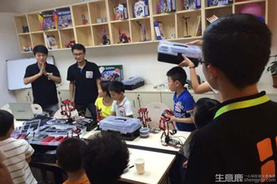 乐博趣机器人教育项目实拍大图