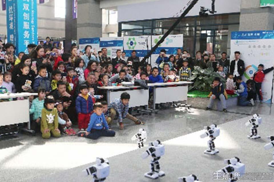 乐益达机器人创客教育项目实拍大图
