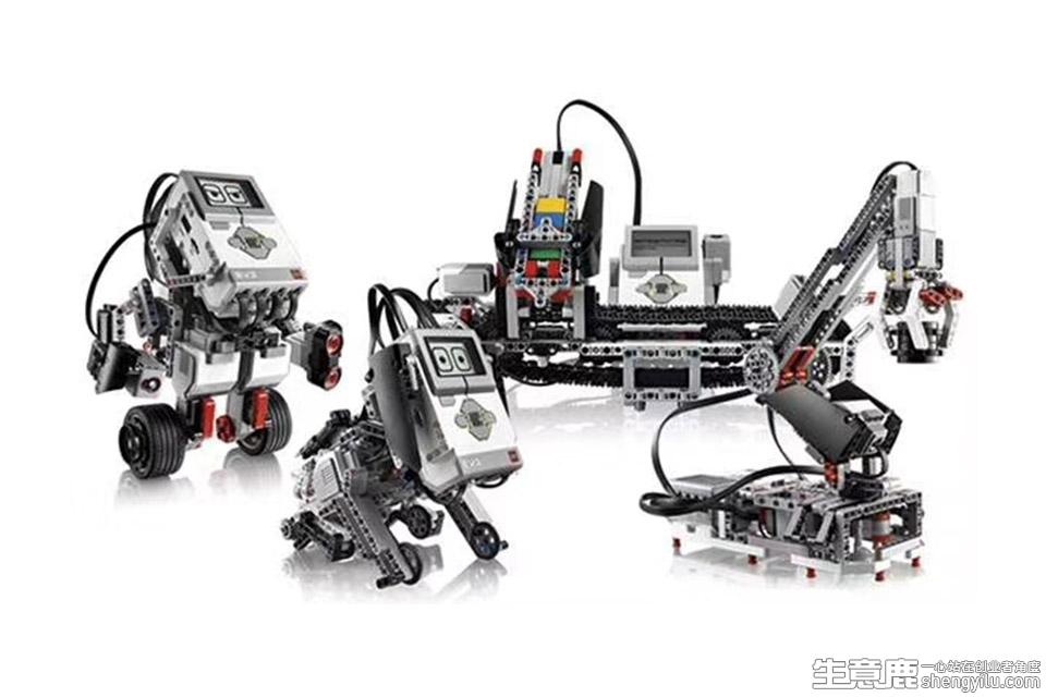 巨人創客機器人教育項目實拍大圖