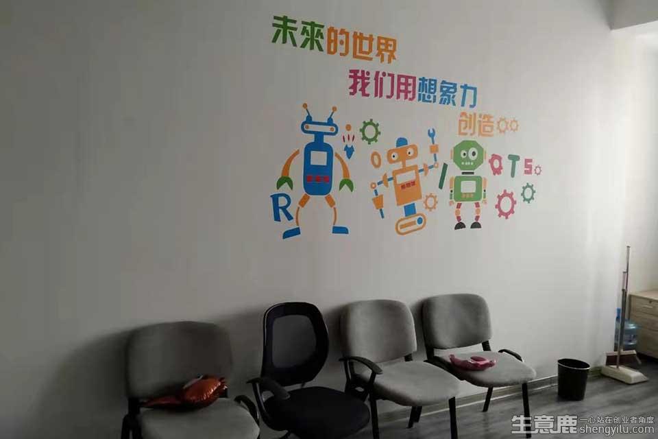 巨人創客機器人教育加盟店實拍