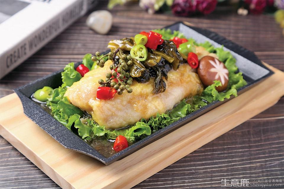 渔舟品唱酸菜鱼米饭加盟店实拍
