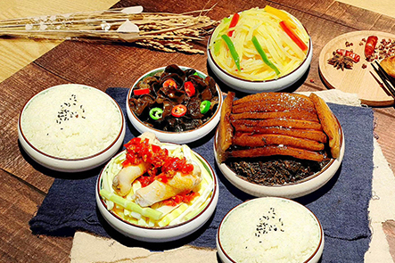 米与麦小碗菜
