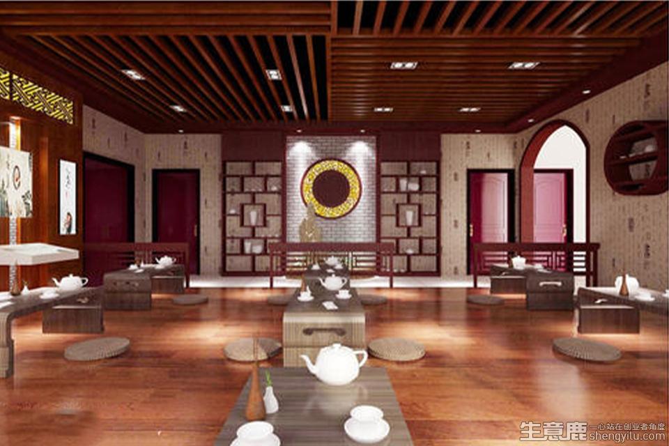 鸿星茶艺馆项目实拍大图