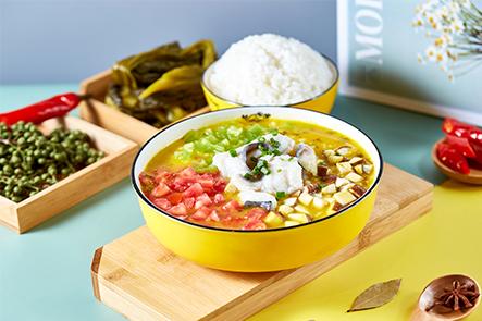 魚吖吖酸菜魚米飯
