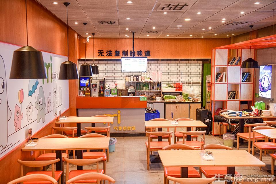 龚友米鲜森铁板小食堂加盟店实拍
