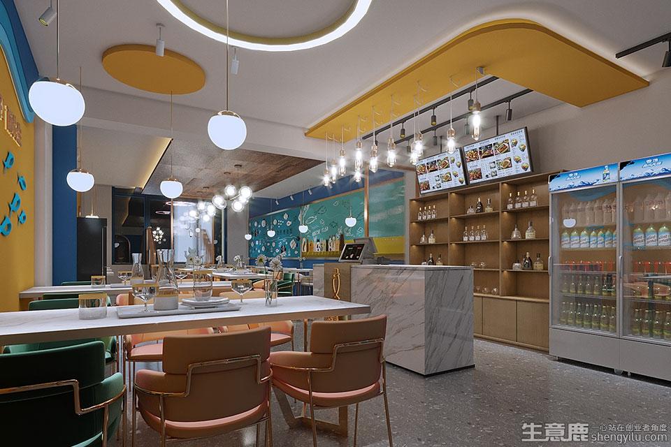 酥先生新派烤鱼加盟店实拍