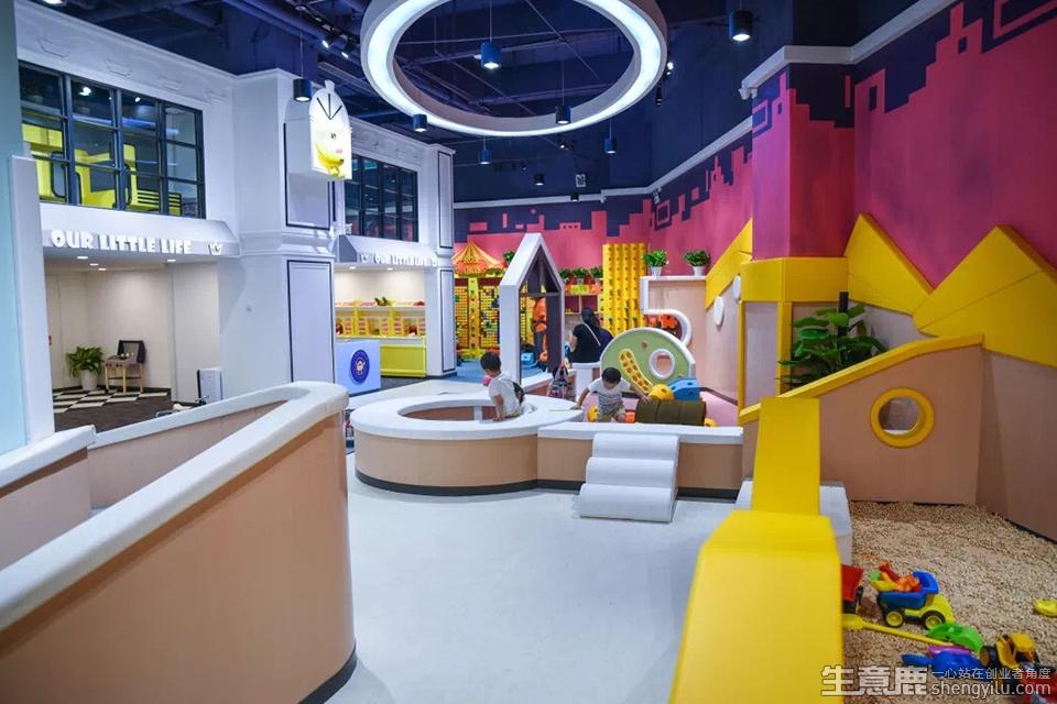 鲁卡奇儿童主题乐园加盟店实拍
